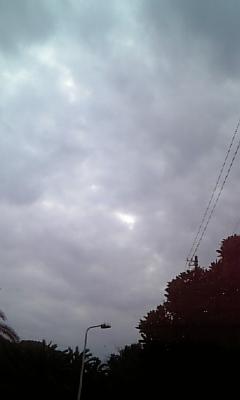 どんより曇り空