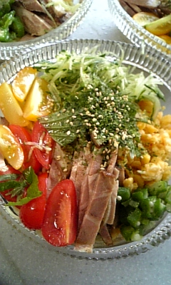ボリュームたっぷりお昼ご飯〜