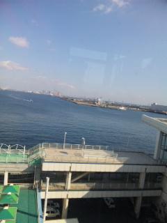 神戸に到着