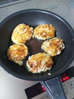 根菜と豆腐のハンバーグ