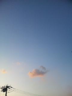 空がキレイ