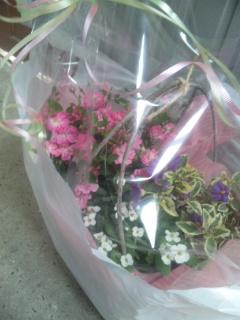 お別れの花