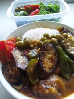 菜園野菜カレーライス